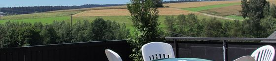 Lounge, Leseecke, Terrasse im Wellnesshotel Waldachtal im Schwarzwald