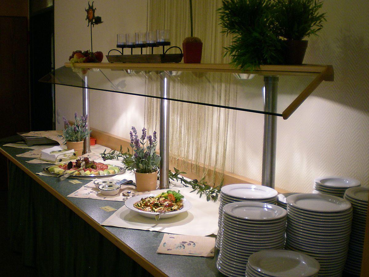 Nachmittagsbuffet im Hotel Waldachtal
